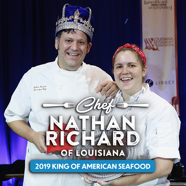 Congrats Chef Nathan Richard American Seafood King 2019