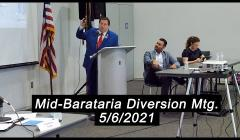 Embedded thumbnail for Mid-Barataria Diversion Project Meeting May 5, 2021